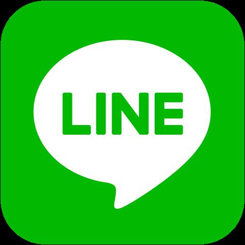 LINEで日本と無料で連絡やり取りができる