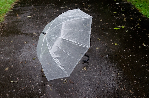 折りたたみ傘を合宿免許に持っていく