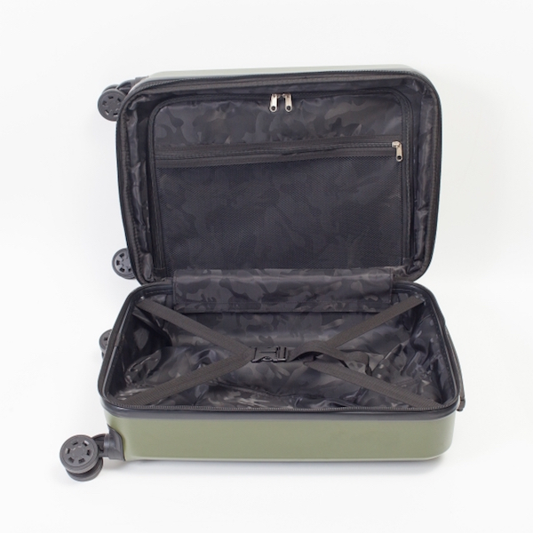スーツケースが突然開いてしまうのを防ぐ